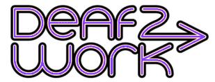 Deaf2Work